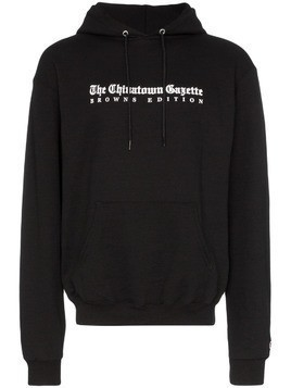Chinatown Market Wordsearch graphic hoodie - Black