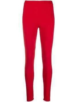 Styland stretch-fit leggings - Red