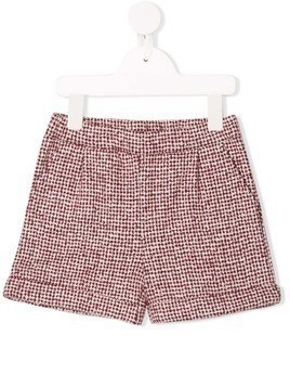 Douuod Kids fleece shorts - Red