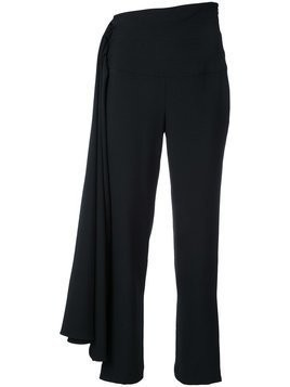 Brandon Maxwell cropped trousers - Black
