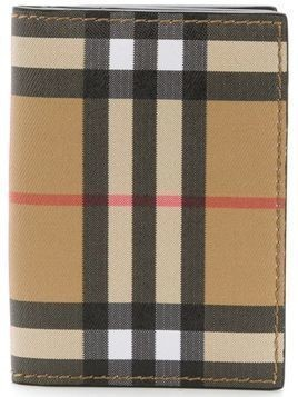 Burberry checked card wallet - Nude & Neutrals