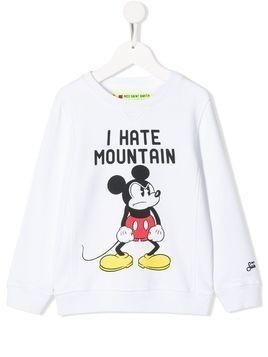 Mc2 Saint Barth Kids Mickey Mouse relaxed-fit sweatshirt - White