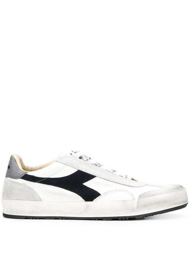 Diadora Original distressed style sneakers - White