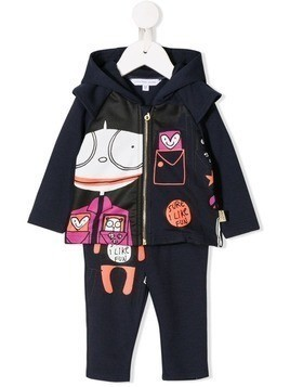 Little Marc Jacobs Miss Marc tracksuit - Blue