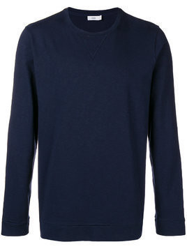 Closed crew neck sweatshirt - Blue