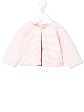 Fendi striped bomber jacket - Pink & Purple