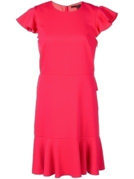 Jay Godfrey ruffle trim dress - Pink