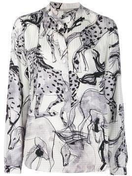 Stella McCartney Eva horse-print shirt - White