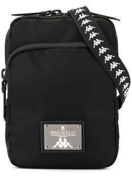 Makavelic MakavelicxKappa shoulder pouch - Black