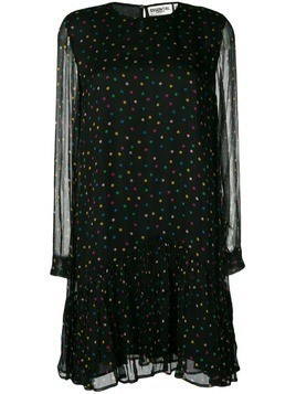 Essentiel Antwerp polka dot print dress - Black