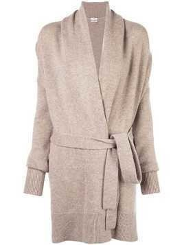 Co oversized belted cardigan - NEUTRALS