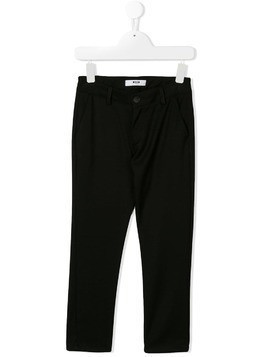Msgm Kids straight-leg chinos - Black
