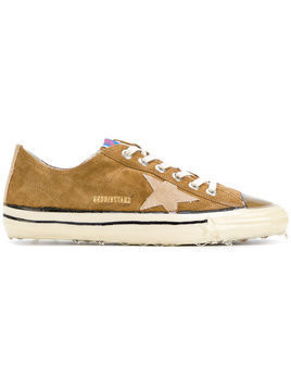 Golden Goose Deluxe Brand - V-Star 2 sneakers - Herren - Leather/rubber/Cotton - 41 - Brown