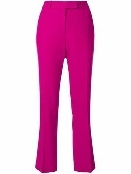 Etro cropped tailored trousers - Pink & Purple