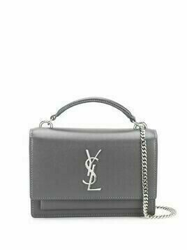 Saint Laurent Sunset shoulder bag - Grey