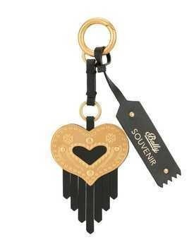 Bally Swiss Souvenir key ring - Black