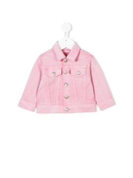 Levi's Kids denim jacket - Pink & Purple