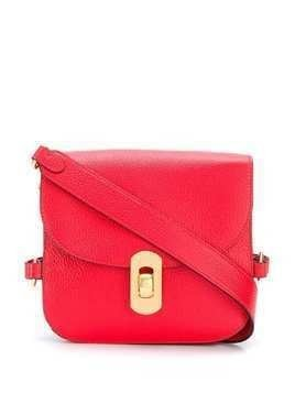 Coccinelle satchel cross body bag - Red
