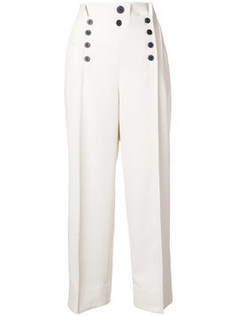 3.1 Phillip Lim straight leg trousers - White