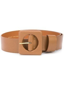 Lizzie Fortunato Jewels square-pendant belt - Brown