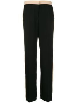 Escada Sport colour block trousers - Black