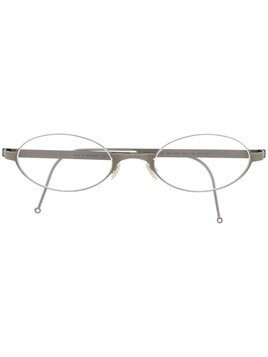 Lindberg oval frame optical glasses - Grey