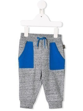Little Marc Jacobs Heather tracksuit pants - Grey