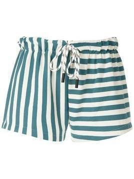 Osklen Summer Stripe shorts - Blue