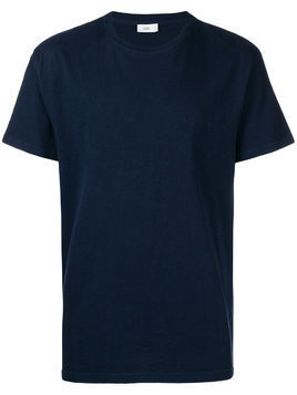 Closed crew neck T-shirt - Blue
