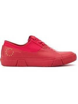 Both lace-up sneakers - Red