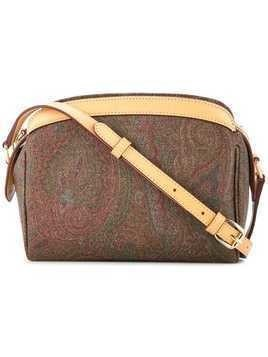Etro paisley crossbody bag - Brown