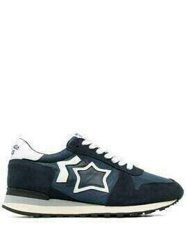 Atlantic Stars star-patch low top sneakrers - Blue