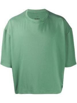 Esteban Cortazar oversized-fit crew neck T-shirt - Green