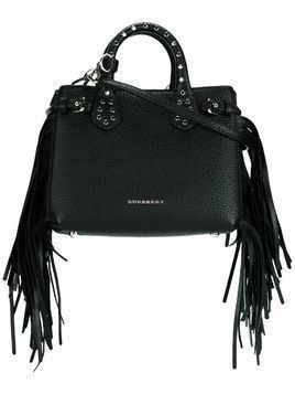 Burberry 'Baby The Banner' shoulder bag - Black