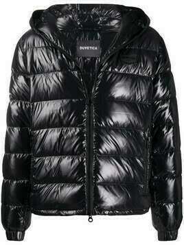 Duvetica Dubhedue hooded down jacket - Black