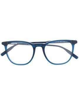 Montblanc round shaped glasses - Blue