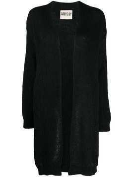 Aniye By open front knit cardigan - Black