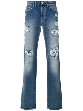 Htc Los Angeles distressed jeans - Blue