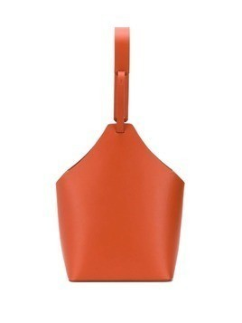 Aesther Ekme top handle bucket bag - Orange