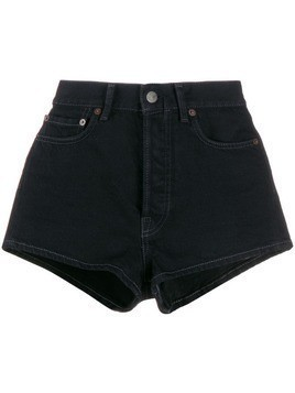 Acne Studios mini denim shorts - Black