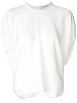 Christopher Esber Cumulus ruched T-shirt - White