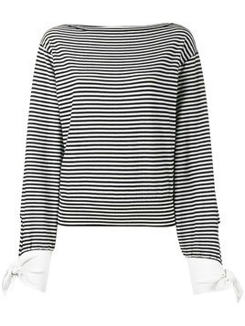 Chloé striped breton top - Black