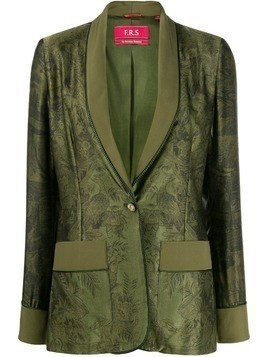 F.R.S For Restless Sleepers floral printed blazer - Green