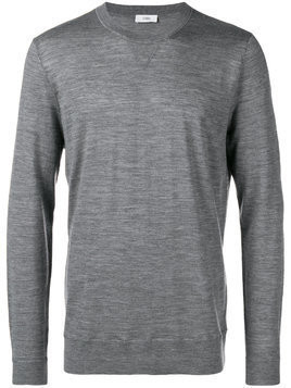 Closed crew neck sweater - Grey