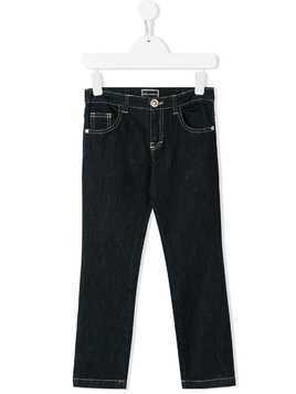 Young Versace straight leg jeans - Blue