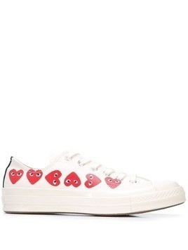 Comme Des Garçons Play x Converse Chuck Taylor Multi Heart 1970s Ox sneakers - White