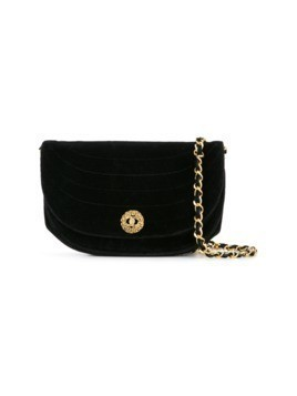 Chanel Vintage quilted shoulder bag - Black
