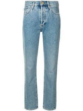 Goldsign mid rise straight jeans - Blue