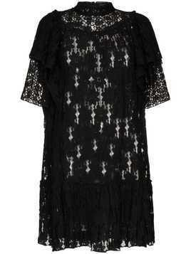 Isabel Marant Étoile Venus lace mini dress - Black