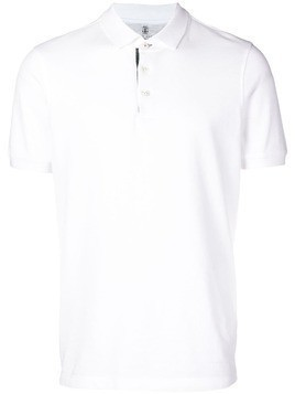 Brunello Cucinelli traditional polo shirt - White